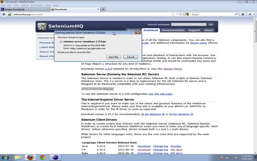 How To Setup a Selenium WebDriver Project in Eclipse ? – Assert Selenium
