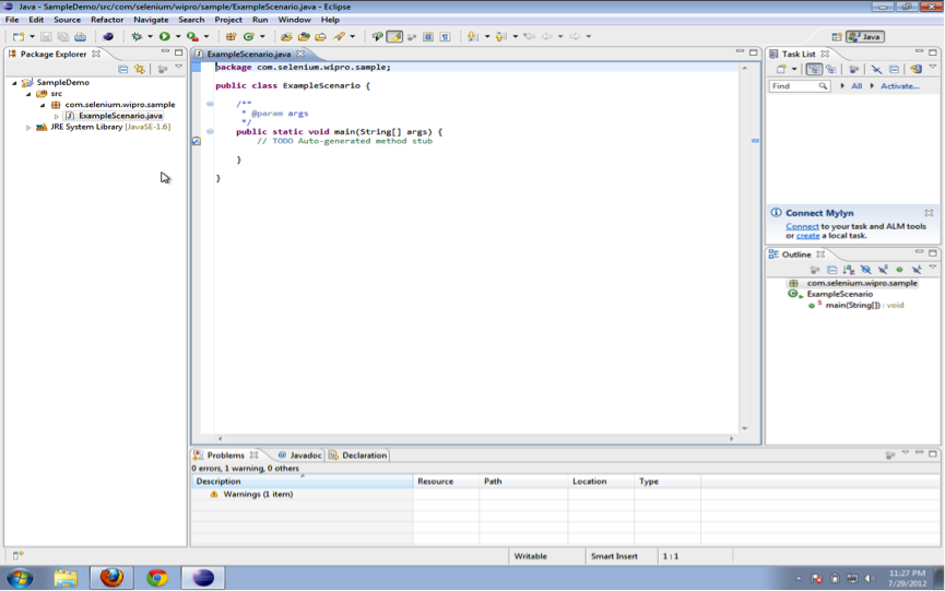 How To Setup a Selenium WebDriver Project in Eclipse