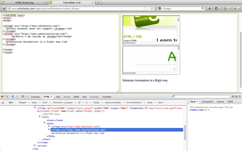 w3schools html table