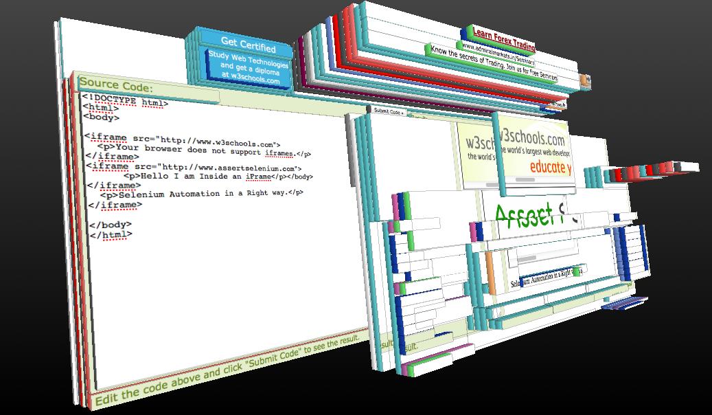 Handling iFrames using WebDriver – Assert Selenium